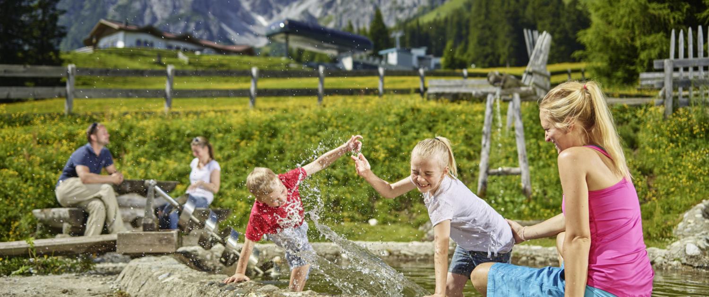 Familienspielplatz auf der Muttereralm Innsbruck