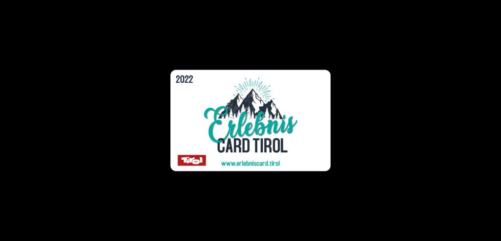 Abbildung der ErlebnisCard Tirol.